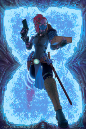 Our selected image for the 2015 Calgary Expo Artbook