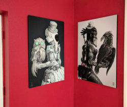 Room-LadyA-MadamM-Large Canvases